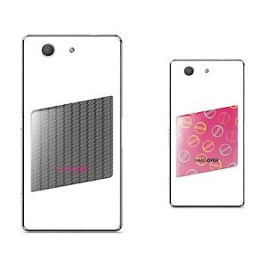 2 skins for size SMALL   Hangover design CARBON LOOK/black + HAPPY PILLS/magenta