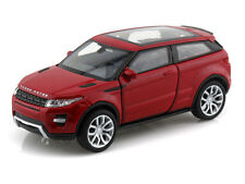 WELLY 1:32 DISPLAY LAND ROVER RANGE ROVER EVOQUE Diecast Car Red
