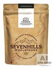 Sevenhills Wholefoods Poudre De Maca Gélatinisée Bio 1kg 100% Pure Vegan Naturel