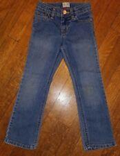 Girls Stretch Boot Cut Jeans Sz. 5 Blue Denim 5-pocket The Childrens Place