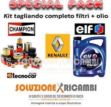KIT TAGLIANDO FILTRI E OLIO RENAULT Trafic II 1.9 dCI 100 74KW 101CV 03/01-
