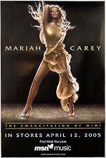 Mariah Carey - The Emancipation Of Mimi - Original Promotional Poster (2005)