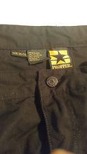 Propper STRETCH WAIST 38/32 Men's Black Cargo Pants 65% polyester 35% cotton