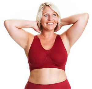 All Woman Plus Size Pull-Over Comfort / Sleep Bra UK XXXL Size 38-56 COLOURS