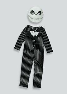 BNWT Nightmare Before Christmas Jack Skellington Fancy Dress Dressing Up Costume