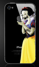 Zombie Snow White Holding Apple iPhone 4/4S Vinyl Decal Sticker