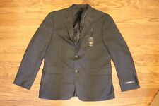 Dockers Black Checkered Suit Jacket 10-875291-002  SIZE: 46L