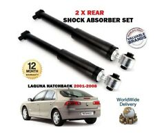 FOR RENAULT LAGUNA 1.6 1.8 1.9 2.0 2.2 3.0 2001-2008 2X REAR SHOCK ABSORBER SET