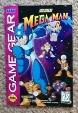 Please Read Only Instruction Manual for Mega Man (Sega Game Gear, 1995)