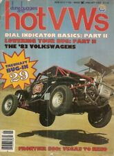 DUNE BUGGIES & HOT VW'S 1983 JAN - DROP A DUB, NEW 83s, WATER COOLED BUGS*