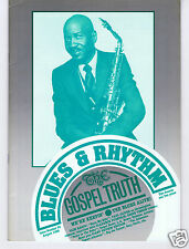 MAGAZINE BLUES & RHYTHM GOSPEL TRUTH No 38 AUGUST 1988 EDDIE VINSON