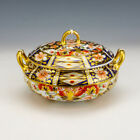 Royal Crown Derby Porcelain - Imari Pattern Covered Bowl - Early!