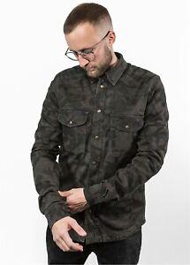 John Doe Motoshirt Mens Shirt Flannel Biker Checkered Aramid Or Protector Set
