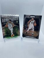 giannis antetokounmpo 2017 prizm Dominance Insert Lot Panini Bucks
