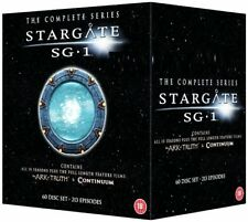 STARGATE SG-1  1-10 1997-2008: COMPLETE+ARK of TRUTH+CONTINUUM SG1 UK DVD not US