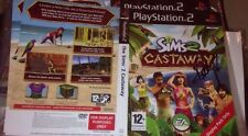 Kelly Rowland Signed The Sims 2 Castaway Game Sleeve Pop R&B Destiny's Child