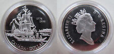"Canada 1 dollar 1999 ""225th Anni of the Voyage of Juan Perez"" PROOF Silver"