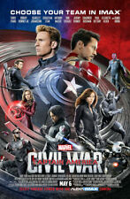 "Captain America - Civil War ( 11"" x 17"" ) Movie  Collector's  Poster Print"