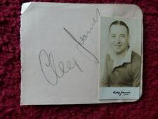 More details for alex james / george mutch - footballers - autographs - 1935