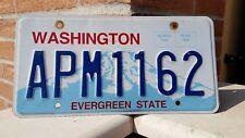 TARGA AUTO USA WASHINGTON ORIGINALE USATA E VISSUTA! 2010 VINTAGE AMERICANA!!