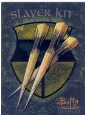 Buffy TVS Season 1 Chase Card Slayer Kit S1  A Wooden Stake