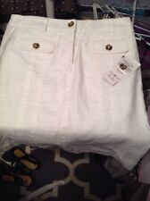 Jones New York Signature White Skirt 8