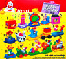 McDonald's Happy Birthday Train Happy Meal Toy 1994 All 15 - 12 MIP & 3 Loose