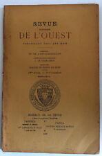 TITRES CROISADES Collection COURTOIS REVUE Historique OUEST VANNES Bretagne 1898
