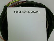 IMPIANTO ELETTRICO ELECTRICAL WIRING MOTO ISO 125 BOBINA INTERNA + SCHEMA