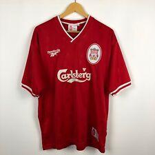 Vintage Liverpool 1996 1998 Home football shirt soccer jersey Reebok Carlsberg