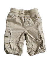 EUC Boys Khaki Gap Pull On Cargo Shorts XS 4 5