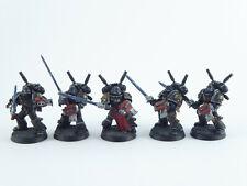 5 Mann Interceptor Squad der Grey Knights - gut bemalt -