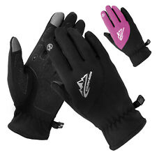 Sports Warm Cycling Gloves Full Finger Liner Gloves Touch Screen Running Bicycle