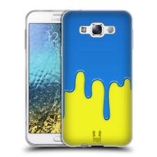 Cover e custodie gialli modello Per Samsung Galaxy J3 con un motivo, stampa per cellulari e palmari