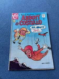 CHARLTON Comic ABBOTT & COSTELLO #5 November 1968