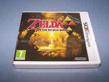 LEGEND OF ZELDA A LINK BETWEEN WORLDS - 3DS - UK PAL - NEW & FACTORY SEALED