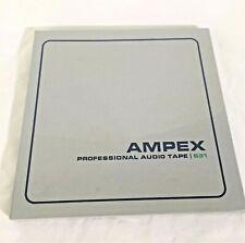 AMPEX Professional Audio Tape 631 - 1/4