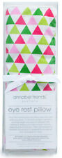 NEW Pink and Green Bunting Design Relaxing Eye Rest Pillow With Lavender