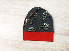 Jerseymütze Baby Mütze Jungen Mitwachsmütze Jersey Beanie Trecker Gr.42-45 cm