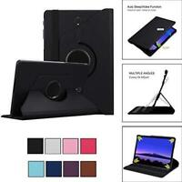 For Samsung Galaxy Tab S4 10.5 SM-T830 Leather 360 Rotating Case Smart Cover