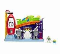 Imaginext Disney Toy Story Pizza Planeta Interactivo Parque Infantil Con Figuras