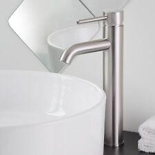"12"" Brushed Nickel Bathroom Sink Faucet Vessel One Hole/Handle Lavatory Tap"