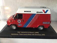#020 Fiat Ducato 1986 Assistenza Rally Valli Ossolane 1995 - DIE CAST 1:43