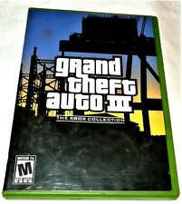 Grand Theft Auto III GTA 3 The Xbox Collection Video Game Xbox Complete Works