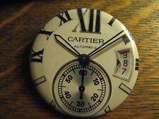 Cartier Multi Dial Automatic Wrist Watch Advertisement Pocket Lipstick Mirror
