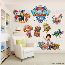 Paw Patrol Room Decor -  Wall Decal Removable Sticker