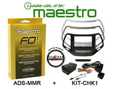 Maestro KIT-CHK1 w/ ADS-MRR Dash Kit For 2014-2017 Jeep Cherokee & Interface