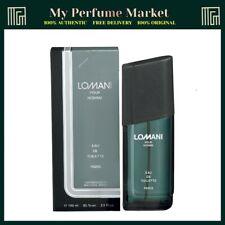 LOMANI POUR HOMME EDT 100ML SPRAY BRAND NEW & BOXED