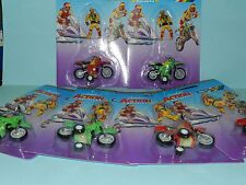 Britains 1/32 Box of 6 Motor Cross Bikes With Action Figures Mint on Card