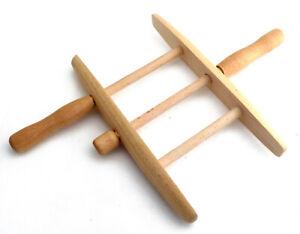 Seilwickler Holzwickler Haspel aus Holz für Seil Wäscheleine